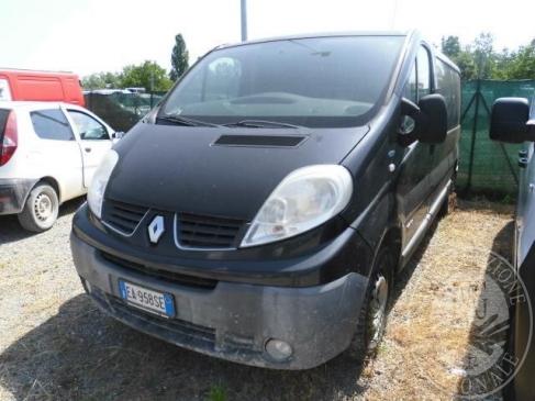 AUTOCARRO MARCA RENAULT MODELLO TRAFIC FURGONE. ANNO 2010, GASOLIO
