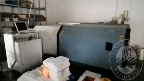 MACCHINA PER INCISIONE LASTRE IN ALLUMINIO CTP BASYS PRINT 1 MODELLO UV-SETTER 1116 F2